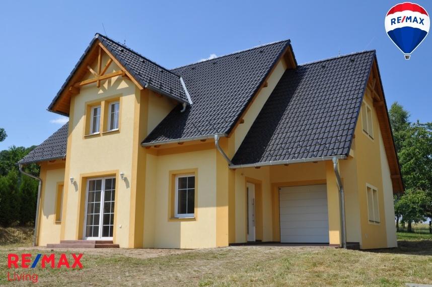 Novostavba rodinného domu v České Kamenici