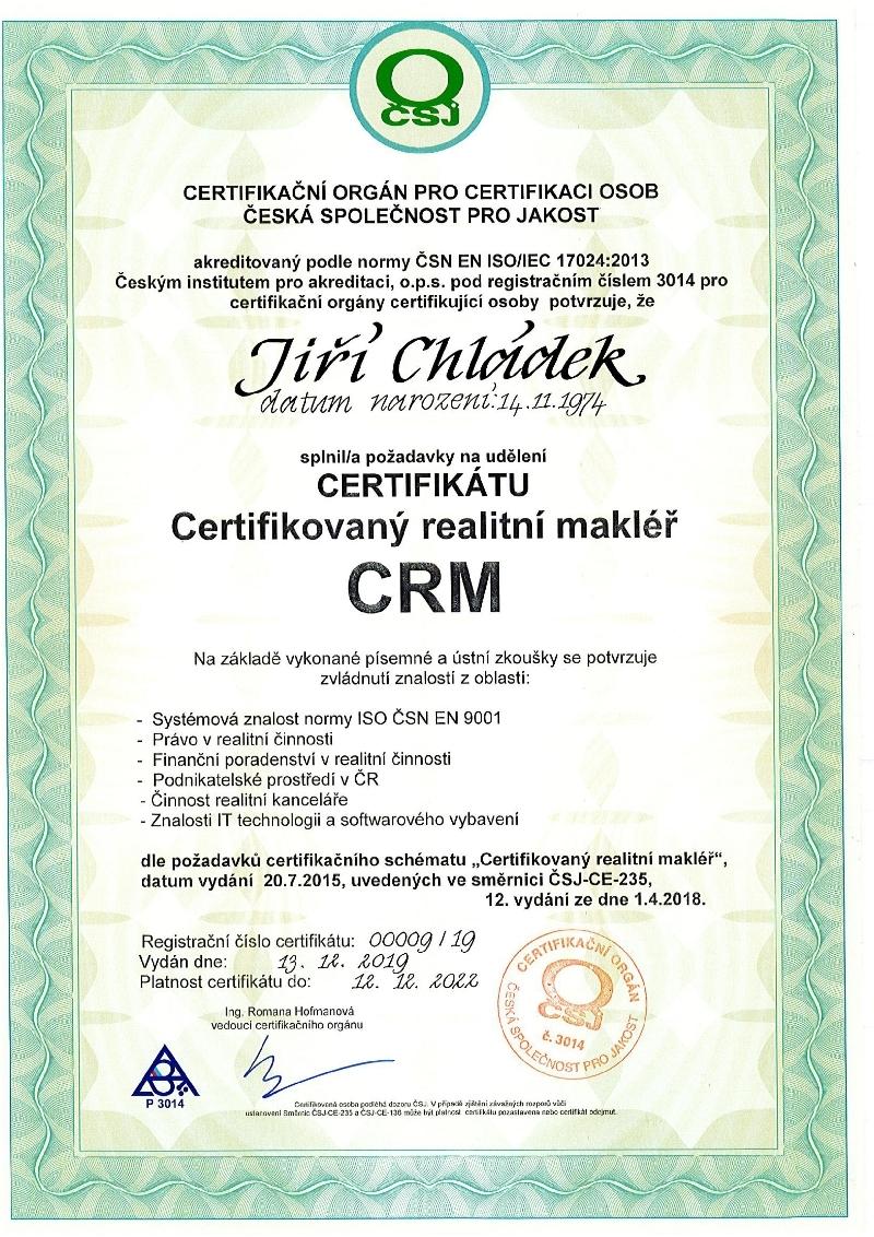 Certifikace ISO 17024