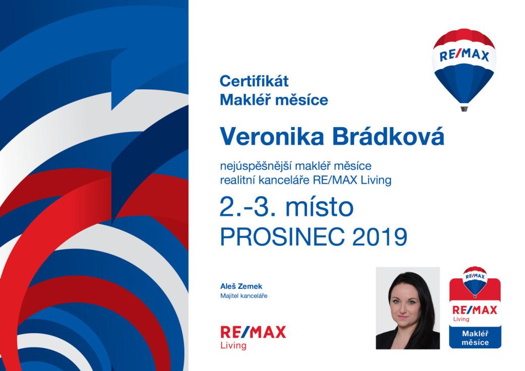 2.-3. MÍSTO - PROSINEC 2019