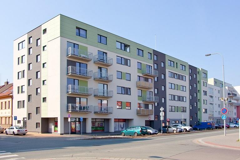 zrealizovaný developerský projekt Pichlova -Pardubice