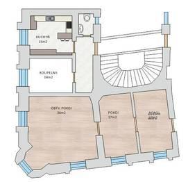 Prodej bytu Atypický v osobním vlastnictví 290 m², Praha 1 - Malá Strana