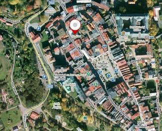 mapa lokality - Pronájem kancelářských prostor 124 m², Broumov