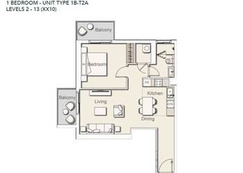 Prodej bytu 2+1 v osobním vlastnictví 65 m², Dubaj