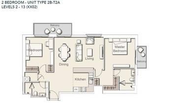 Prodej bytu 3+1 v osobním vlastnictví 113 m², Dubaj