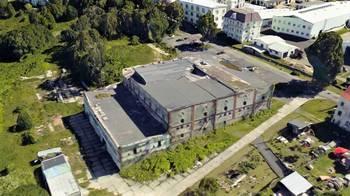 Letecký pohled. - Prodej zemědělského objektu 6900 m², Krásná