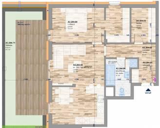 Prodej bytu 2+kk v osobním vlastnictví 105 m², Zlín