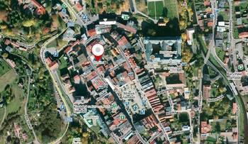 Mapa lokality - Pronájem kancelářských prostor 17 m², Broumov