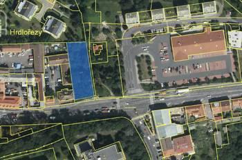 Pronájem pozemku 1675 m², Praha 9 - Hrdlořezy