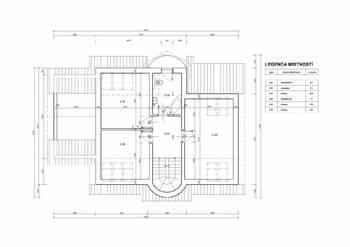 Půdorys 2.NP - Prodej domu 251 m², Římov
