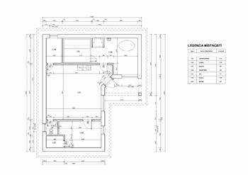 Půdorys wellness objektu - Prodej domu 251 m², Římov