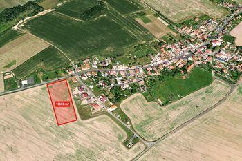 3D snímek - Prodej pozemku 10600 m², Čermná