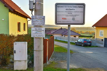 Vybudovaná Infrastruktura - Prodej pozemku 10600 m², Čermná