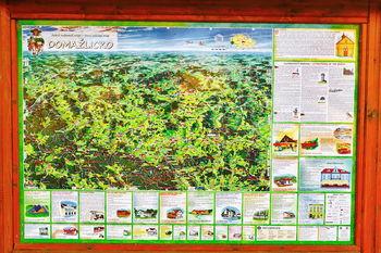Mapa okolí - Prodej pozemku 10600 m², Čermná
