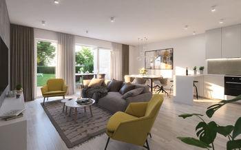 vizualizace interiéru - Prodej domu 120 m², Praha 10 - Dubeč