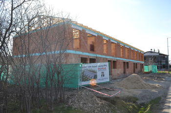 stav projektu k 31.3.2021 - Prodej domu 120 m², Praha 10 - Dubeč