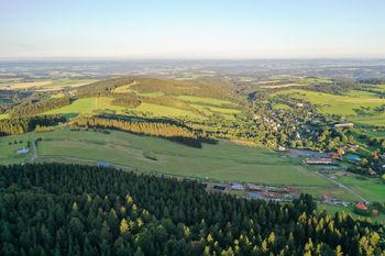Pohled na stavební parcely - Prodej pozemku 1380 m², Čenkovice
