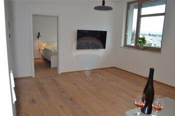 obytný prostor - Pronájem bytu 2+kk v osobním vlastnictví 47 m², Prostějov