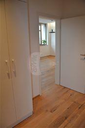 chodba, vestavěné skříně - Pronájem bytu 2+kk v osobním vlastnictví 47 m², Prostějov