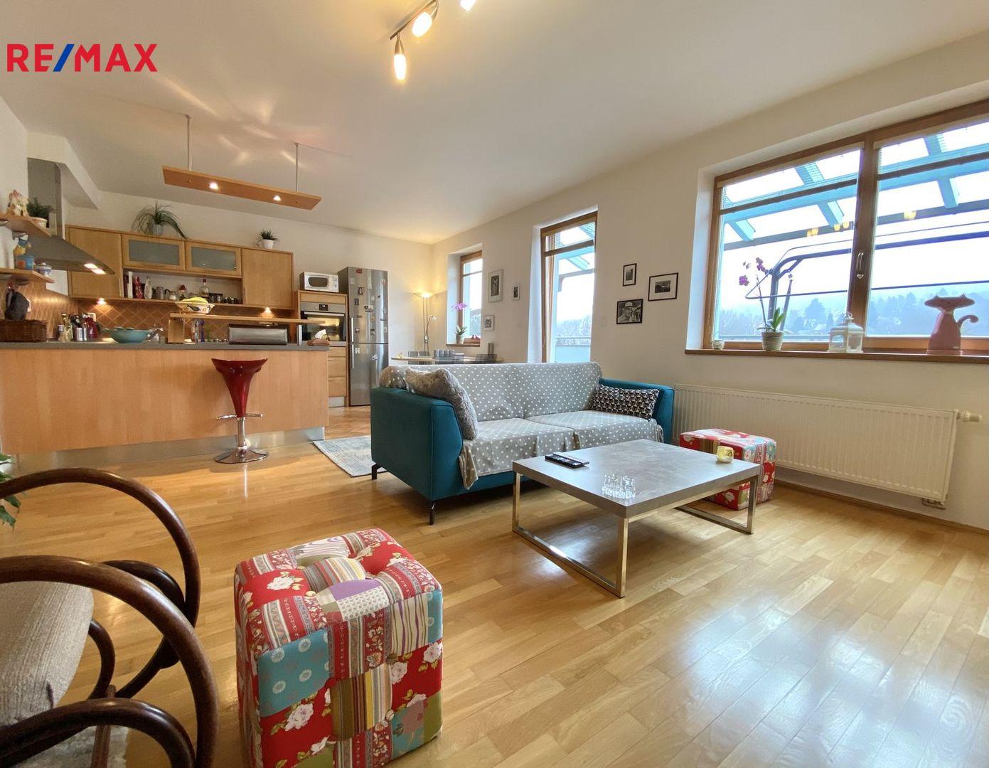 Prodej bytu 4+kk v osobním vlastnictví 129 m², Dobřichovice
