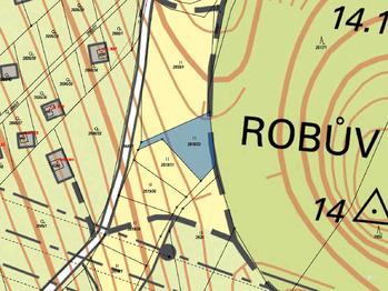 Prodej pozemku 506 m², Česká Třebová