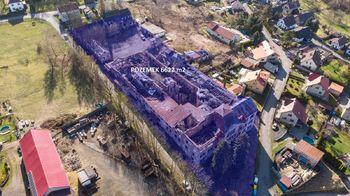 Pozemek - Prodej historického objektu 6622 m², Kamenický Šenov