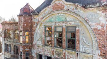 Detail fasády - Prodej historického objektu 6622 m², Kamenický Šenov