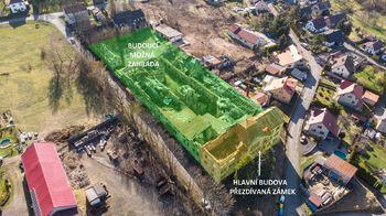 Varianta využití - Prodej historického objektu 6622 m², Kamenický Šenov