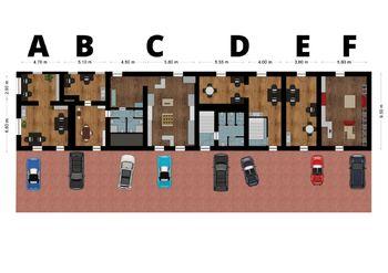 Pronájem obchodních prostor 70 m², Červený Újezd