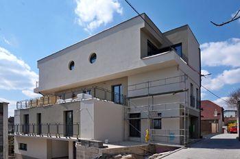 Fotografie ze stavby - Rezidence Bosonohy - Prodej bytu 2+1 v osobním vlastnictví 54 m², Brno