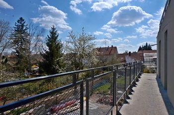 Fotografie ze stavby - balkon (26.4.2021) - Prodej bytu 2+1 v osobním vlastnictví 54 m², Brno