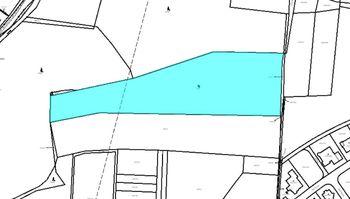 Zobrázení v katastrální mapě - Prodej pozemku 14749 m², Roztoky