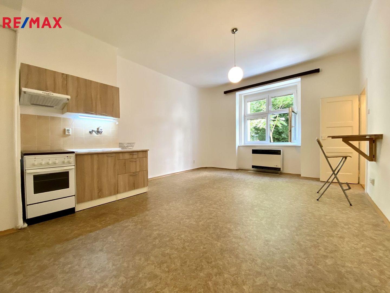 Pronájem bytu 1+kk v osobním vlastnictví 28 m², Praha 4 - Nusle
