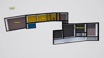 schéma I.NP - Pronájem komerčního objektu 649 m², Česká Lípa