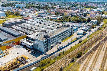 Letecký snímek - Prodej obchodních prostor 4000 m², České Budějovice