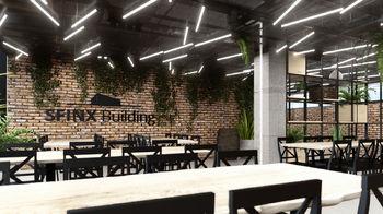 Vizualizace restaurace - Prodej obchodních prostor 4000 m², České Budějovice
