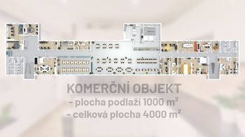 Celý půdorys - Prodej obchodních prostor 4000 m², České Budějovice
