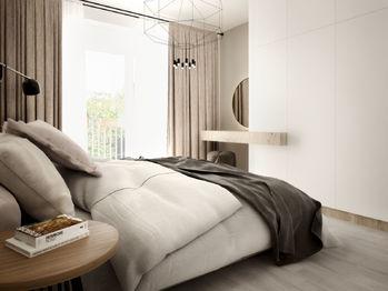 Ložnice - Prodej bytu 3+kk v osobním vlastnictví 84 m², České Budějovice