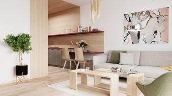 Prodej bytu 2+kk v osobním vlastnictví 58 m², Hluboká nad Vltavou
