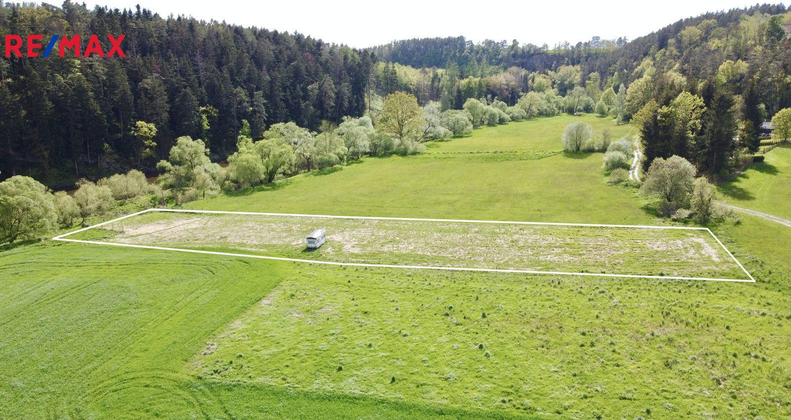 Prodej pozemku, 3146 m2, Dobronice u Bechyně