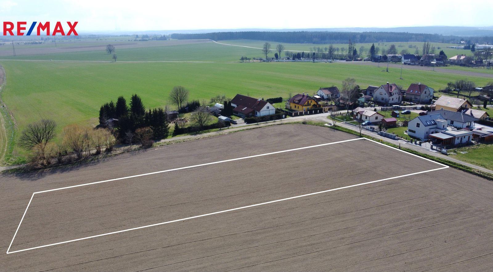 Prodej pozemku, 4689 m2, Opařany