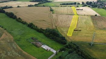 Prodej pozemku, 7352 m2, Dolany